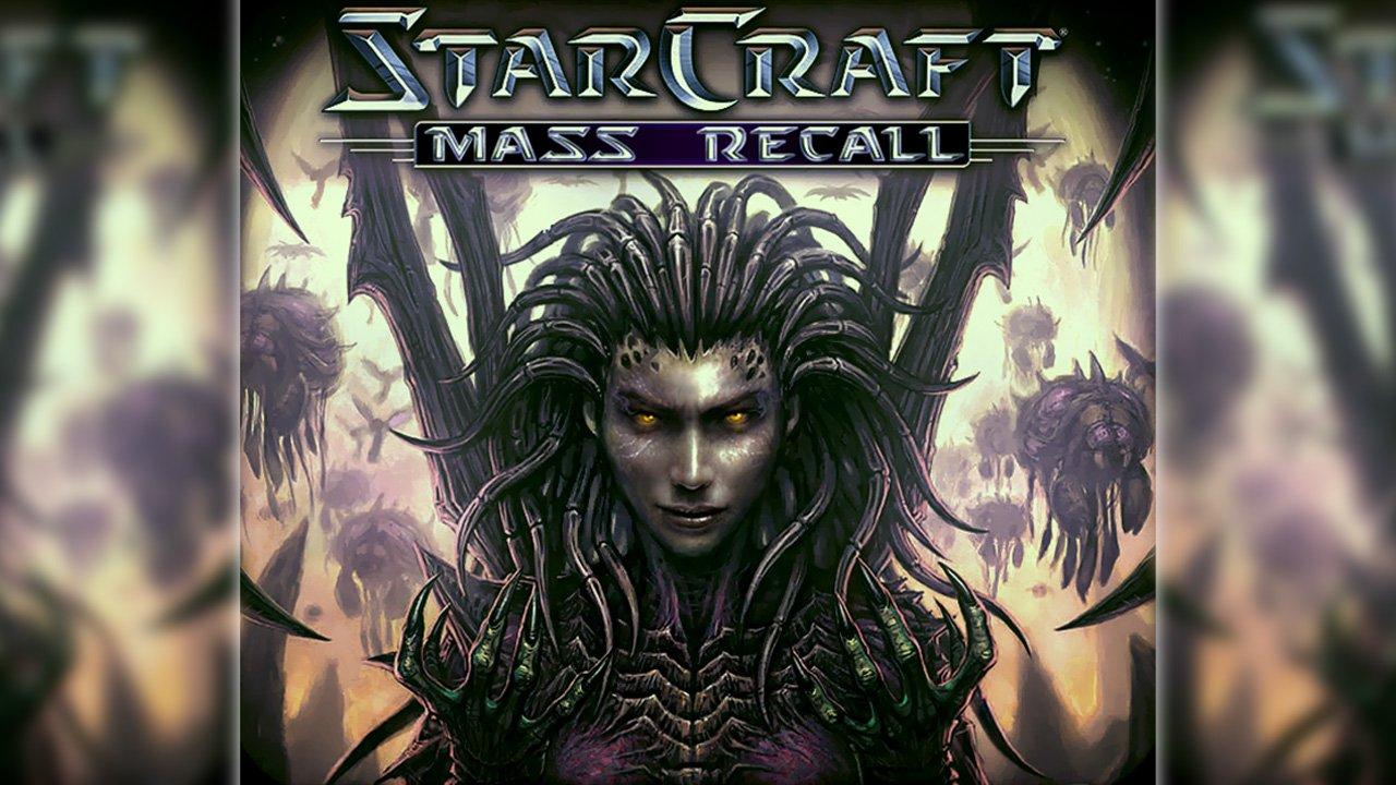 starcraft: kitle geri çağırma afiş, starcraft: kitle hatırlama